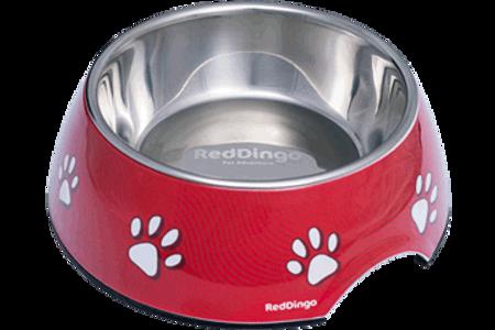 Bilde av Melamine Pet Bowl - L Rød